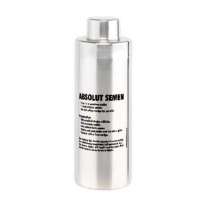 Absolut Semen Cocktail Shaker