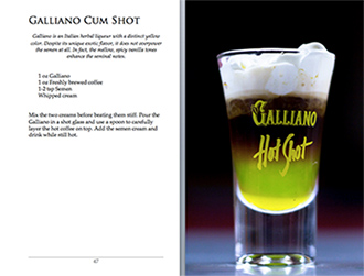 Semenology Recipe Galliano Cumshot