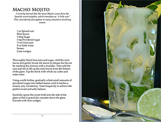 Semenology recipe Macho Mojito
